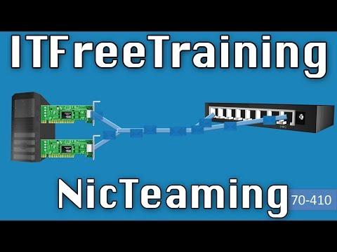 NIC Teaming on Windows Server 2012