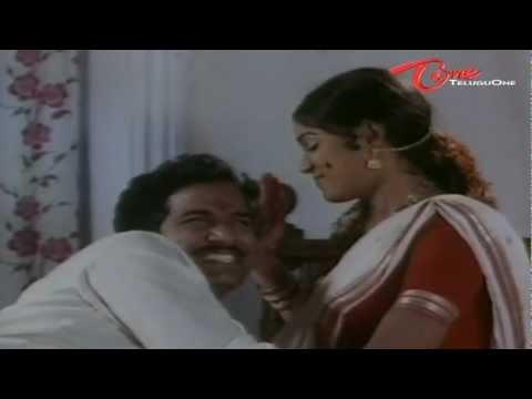 Divya Vani Romance With Rajendra Prasad - Telugu Comedy