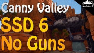 FORTNITE - Canny Valley Storm Shield Defense 6 Solo Without Shooting Any Weapons