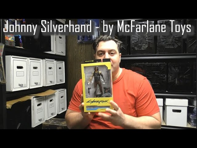REVIEW - Johnny Silverhand - Cyberpunk 2077 - by McFarlane Toys