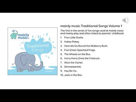 mainly music Traditional Songs Volume 1