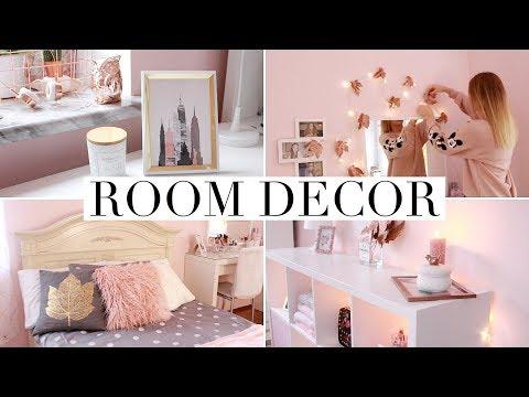 Как красиво украсить комнату своими руками для девочек