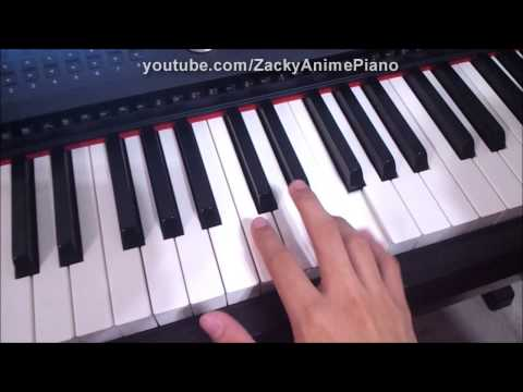 Piano Tutorial - KrOnё - Guilty Crown OST (Lost Christmas Theme)