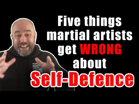 Five things martial artists get wrong about self-defence