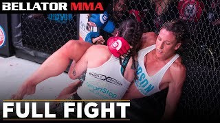 Full Fight | Julia Budd vs. Talita Nogueira - Bellator 202