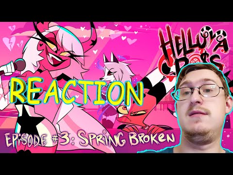 HELLUVA BOSS - Spring Broken // S1: Episode 3 | RUSSIAN REACTION