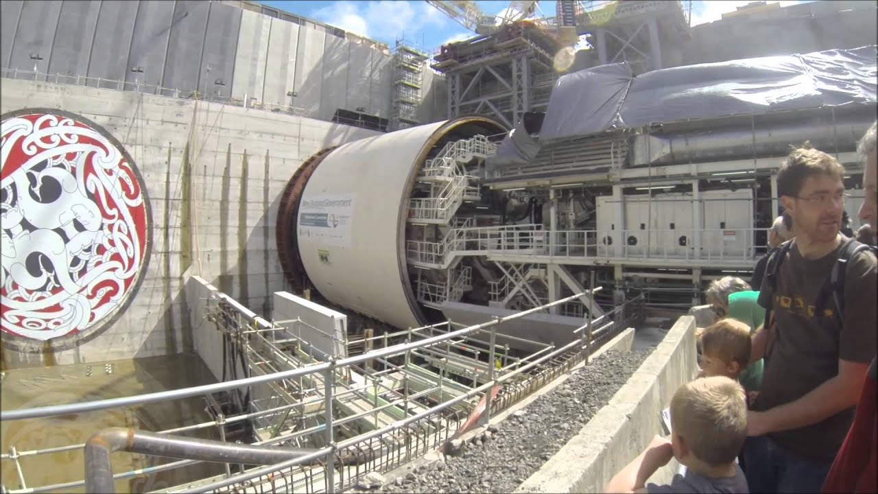Meeting Alice - The Waterview Tunnel Boring Machine