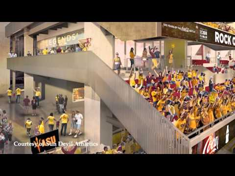 ASU Sun Devil Stadium Construction