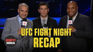 UFC Fight Night Recap: Dominick Reyes knocks out Chris Weidman | ESPN MMA