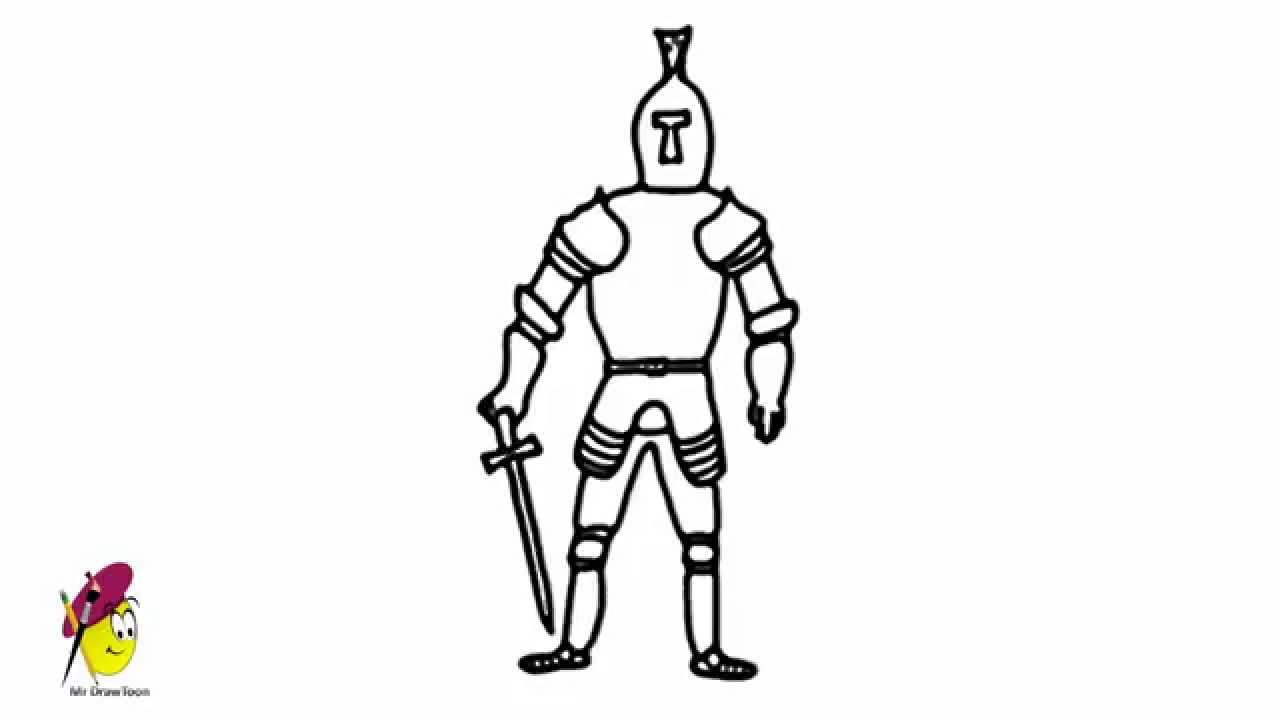 Knight  How To Draw A Knight