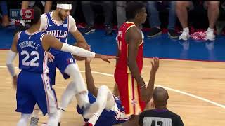 Joel Embiid should become an Actor after Worst Flop Of The Season.. | Sixers vs Hawks