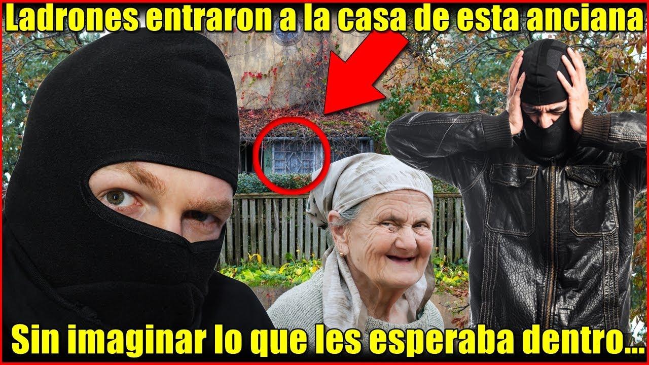 Anciana esperaba a su hijo de la cárcel, un día los ladrones entraron a su casa y se horrorizaron...