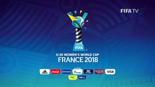 FIFA U-20 Women's World Cup France 2018 - OFFICIAL EMBLEM REVEALED