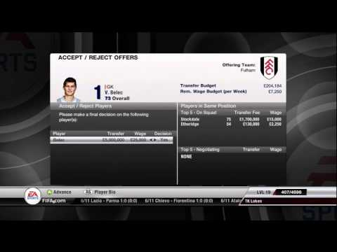 FIFA 12 - Fulham FC - Manager Mode Commentary - Season 2 - Episode 3 -