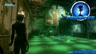 Batman Arkham Knight - Riddler Trial #8 Walkthrough (The Riddle Factory Trophy / Achievement Guide)