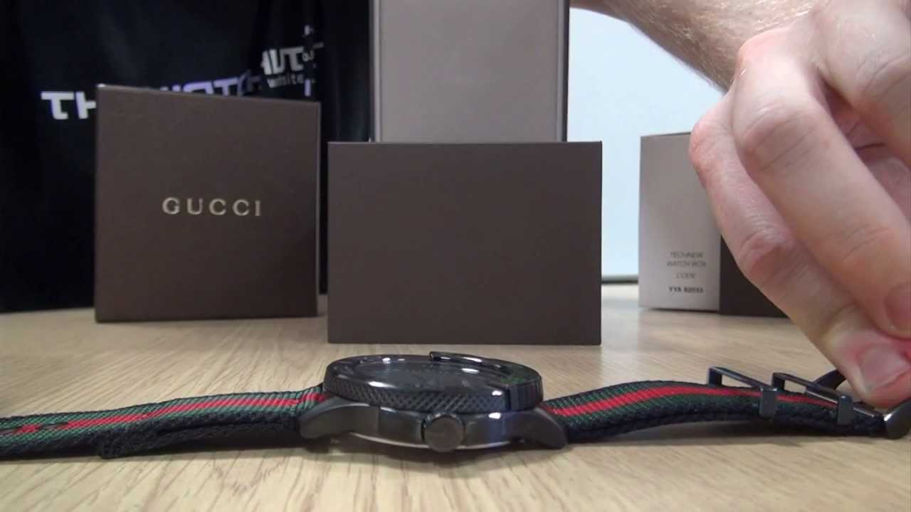 7b660c4c96c Gucci Unboxing. The Watch Hut