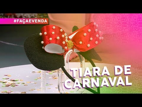 Tiara de carnaval por Tati Rocha thumbnail