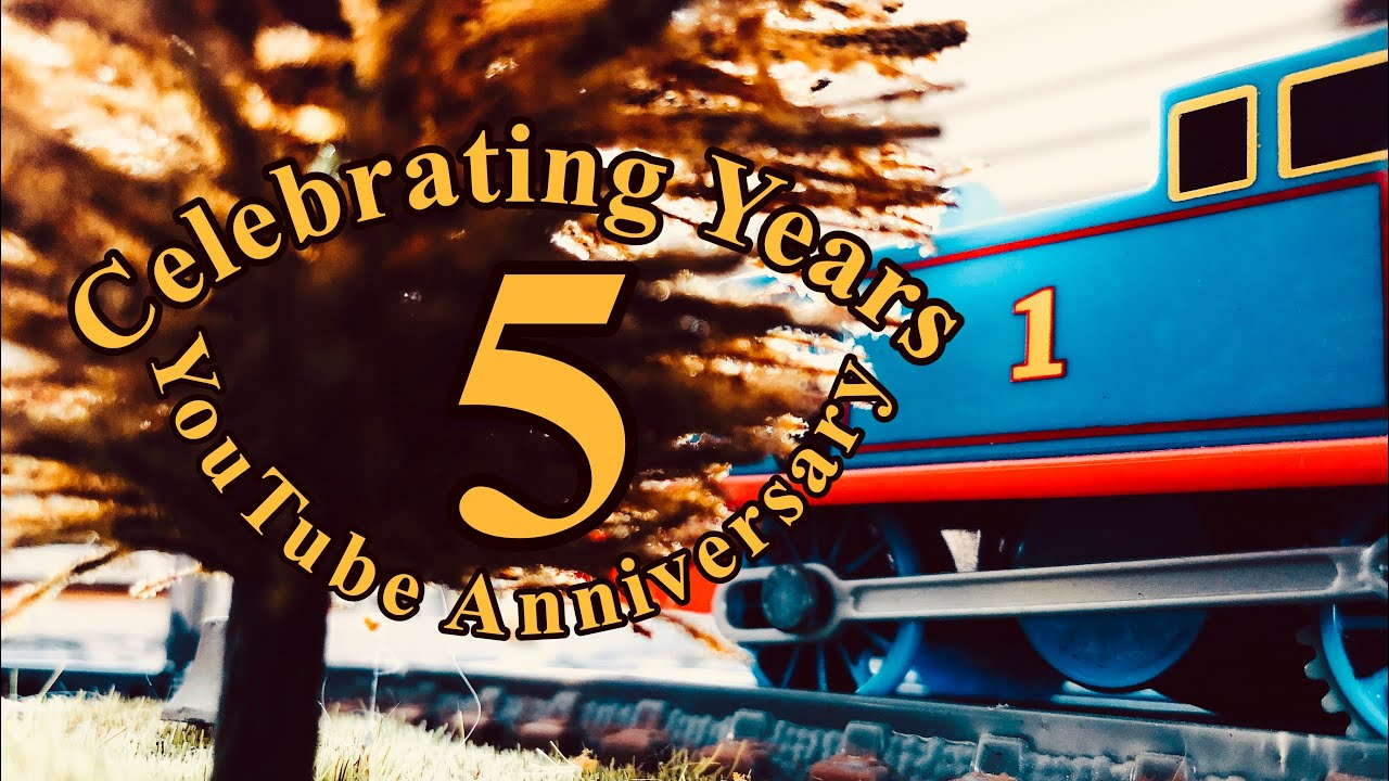 CELEBRATING 5 YEARS ON YOUTUBE