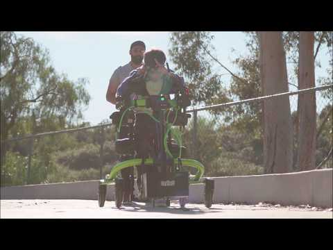 Trexo Robotics: daily walking for children with disabilities