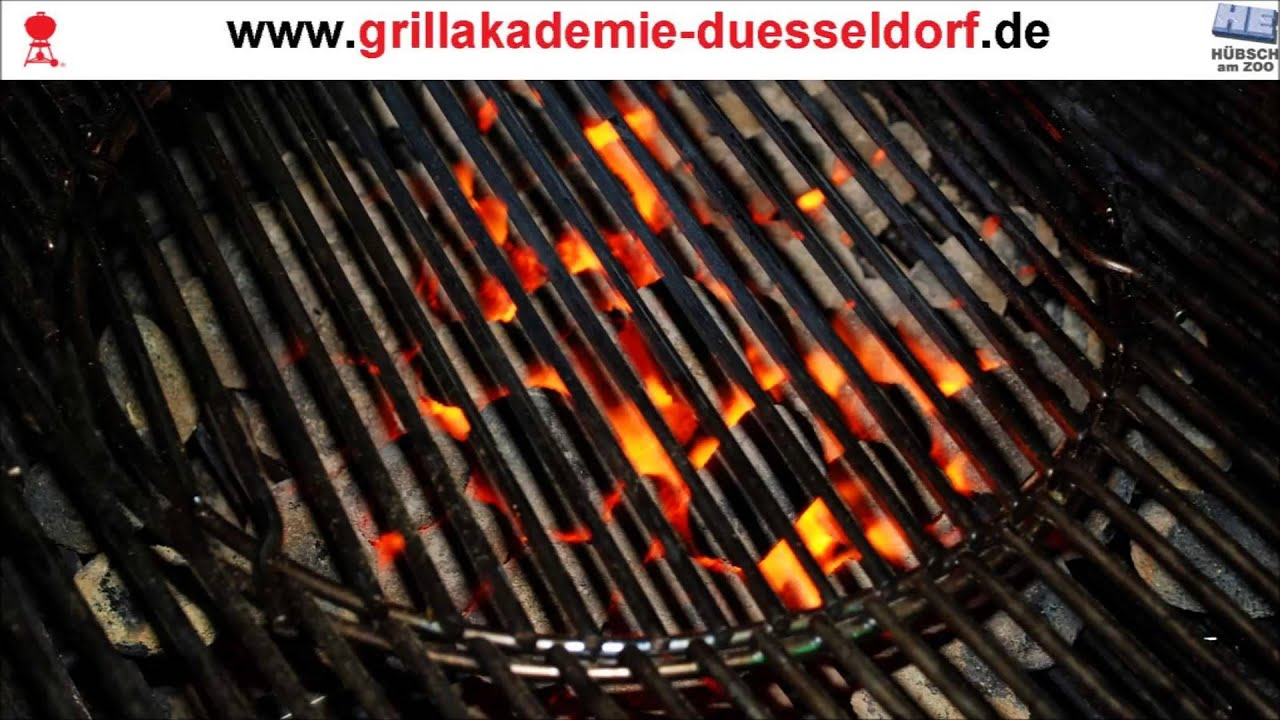 grillakademie d sseldorf grillt mit weber grill youtube. Black Bedroom Furniture Sets. Home Design Ideas