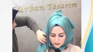 لفة حجاب للمناسبات
