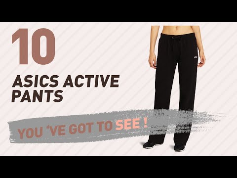 Asics Active Pants // New & Popular 2017