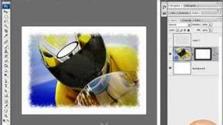 Creating Cool Image Borders w/ Smart Photos! Photoshop Tutorial!