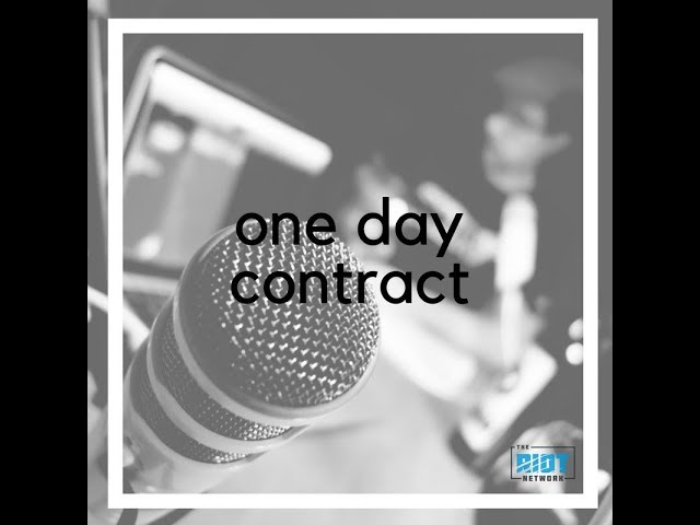 One Day Contract Trailer