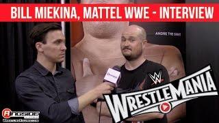 WrestleMania 31 - Interview with Mattel WWE Designer, Bill Miekina!