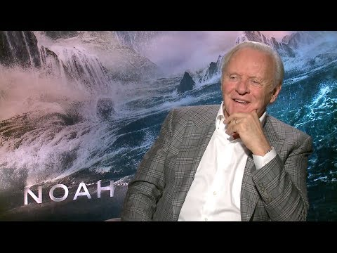 Anthony Hopkins discusses philosophy and the vision behind 'Noah'