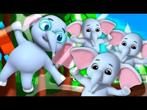 Ek Mota Hathi | एक मोटा हाथी कविता | Bal Geet In Hindi | Baby Box India | Hindi Nursery Rhyme
