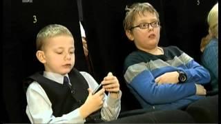 Слепых детей в Челябинске пригласили в кинотеатр