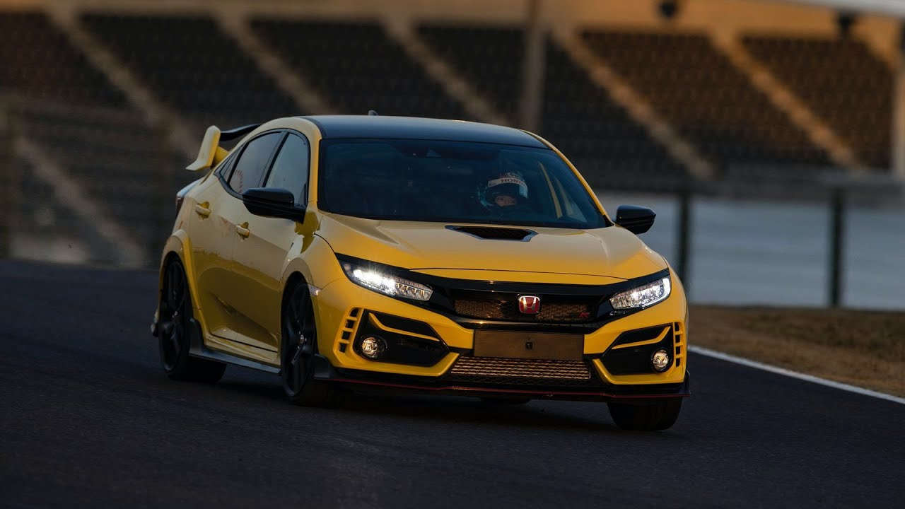 2021 Honda Civic Type R Limited Edition Sets New FWD Lap Record At Suzuka Circuit - Carscoops