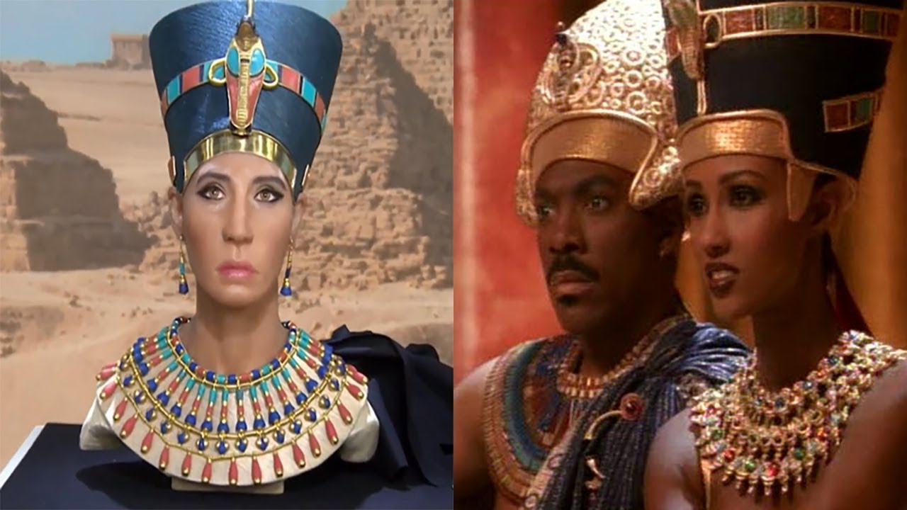 Culture Vultures Strike Again Nefertiti Changed From