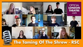 The Taming Of The Shrew performance | Royal Shakespeare Company - Playmaking Festival 2020