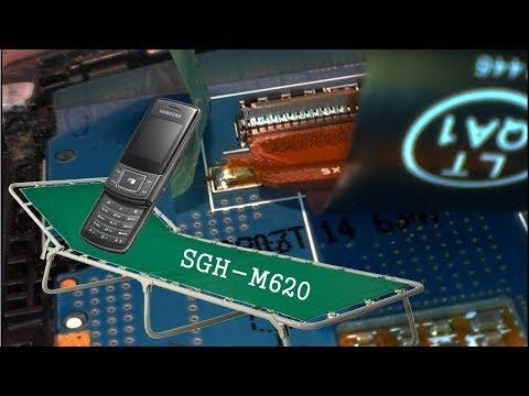 раскладушка Samsung SGH M620 ~ замена шлеЙфа