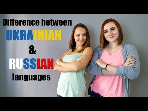 Difference between Ukrainian and Russian languages. Alphabet & Grammar