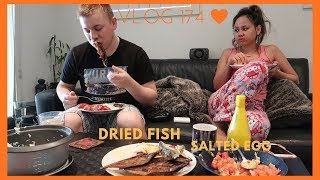 MY AUSTRALIAN HUSBAND EATS FILIPINO BREAKFAST