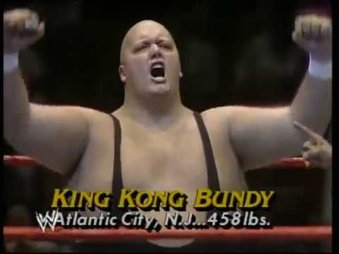 Greatest Matches in WWF Wrestling Andre The Giant vs. King Kong Bundy