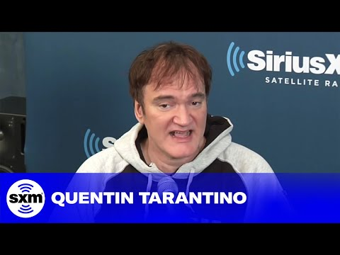 Quentin Tarantino Shares His Three Most Influential Films // SiriusXM // Stars
