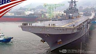 横須賀・佐世保から続々と出港する米海軍の軍艦(強襲揚陸艦・巡洋艦・駆逐艦)