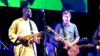 Paul McCartney with Africa Express - Goodnight Tonight - Africa Express London 08/09/2012