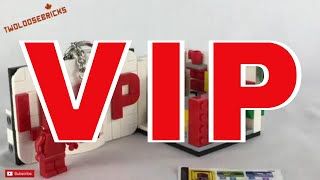 LEGO VIP Store mini set 40178 Review!