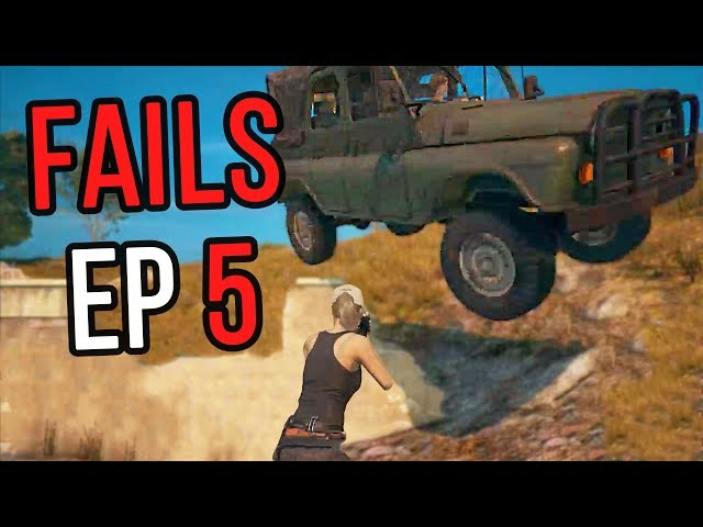 PUBG: Fails & Unlucky Moments Ep. 5