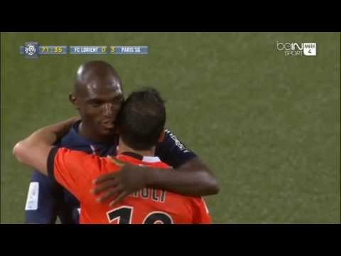 FC LORIENT / PSG - Standing Ovation pour Ludovic Giuly