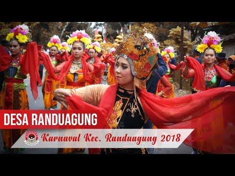 Tari Gandrung Dor - Desa Randuagung | Karnaval Kecamatan Randuagung 2018