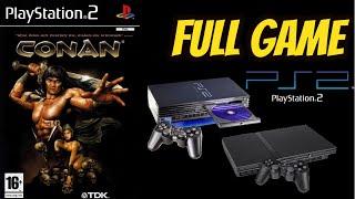 Conan (The Dark Axe) PS2 Gameplay Walkthrough ALL ATLANTEAN SWORD PARTS COLLECTED,  NO COMMENTARY