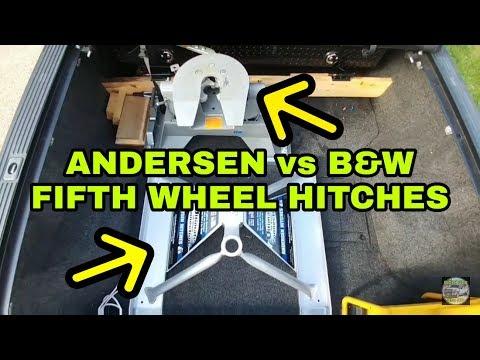 Andersen Aluminum vs B&W Companion Fifth Wheel Hitches
