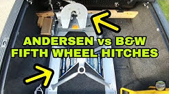Andersen Aluminum vs B&W Companion Fifth Wheel Hitches