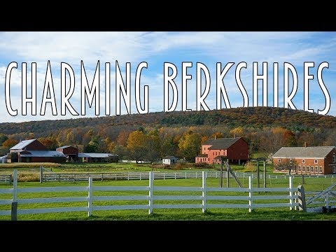 CHARMING MASSACHUSETTS: Berkshires Travel Guide to Lee, Lenox, & Stockbridge MA!